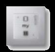 Настенный переключатель электрокарниза. Вариант 1