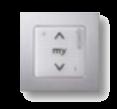 Настенный переключатель электрокарниза. Вариант 2